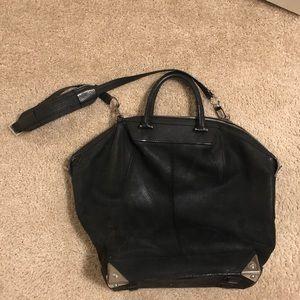 Alexander Wang Black Leather Large Emile Tote
